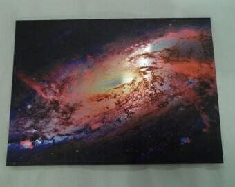 Metal Print, Spiral Galaxy, 5x7