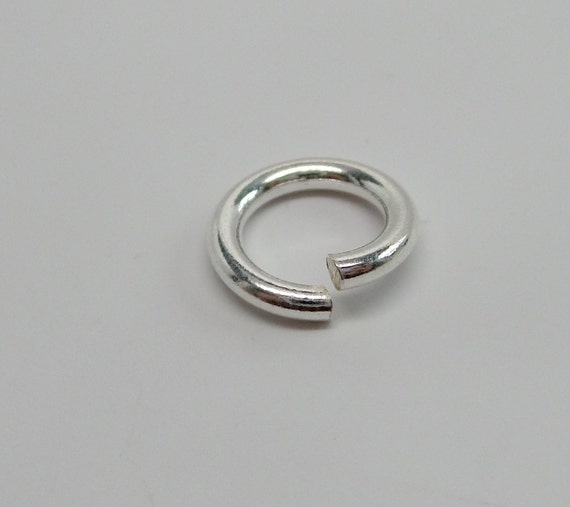 925 solid sterling silver jump rings open 12 mm handmade