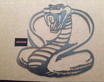 Cobra Wall Art Plaque CNC Plasma cut