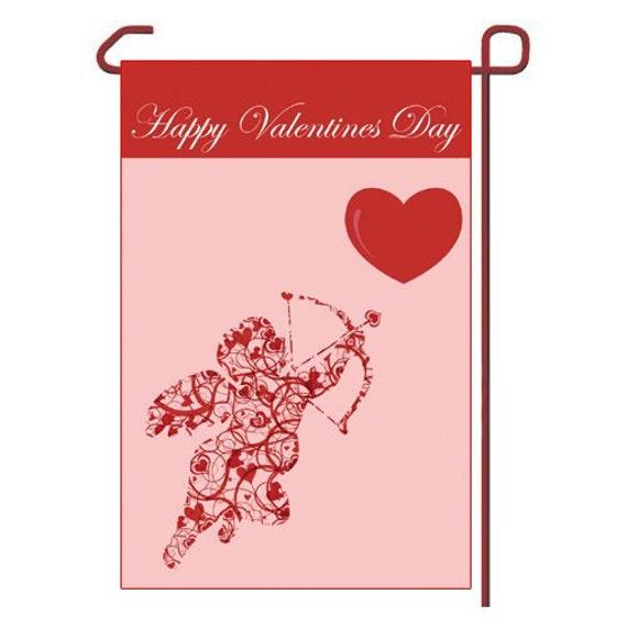 Details. Valentines Day Seasonal Vinyl Garden Flag ...
