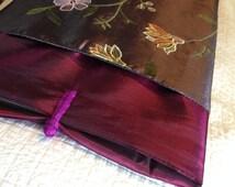 Purple Vintage silk MacBook Air or Pro Sleeve/Cover/Case