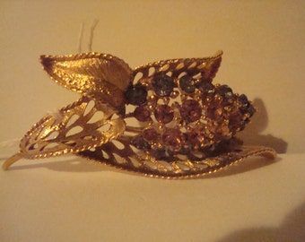 Exquisite vintage brooch