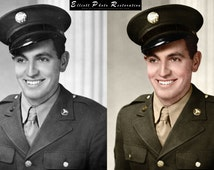 Photo Restoration, Photo Colorization, Photo Retouch Service - We Repair, Retouch, Enhance and Restore Your Damaged Photograph