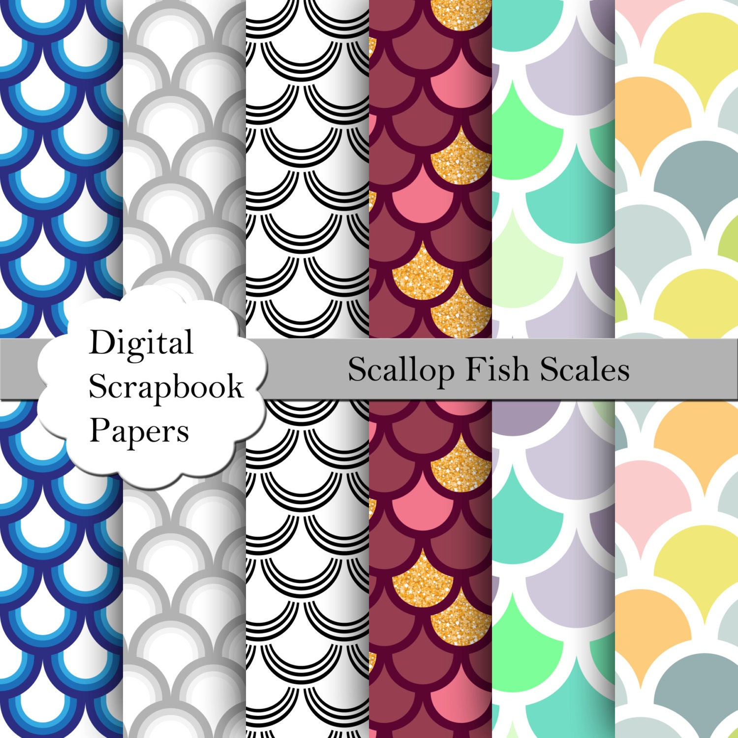 the effectiveness of fish scales and For normal fish, you use the round edge on the body with pushing action the round edge just scoops up the scales and it does it so gently that all the scales only remain sitting on the cup without flying all over the place.