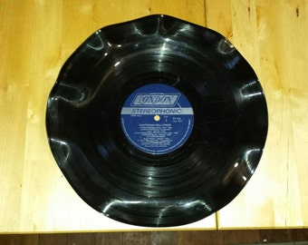 "Vinyl Record Bowl, ""Mantovani/Hollywood"""