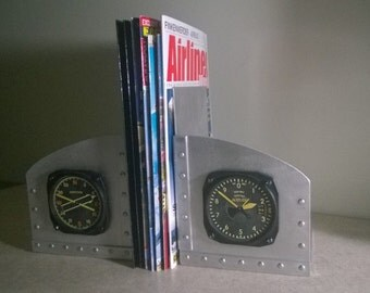 aviation book ends