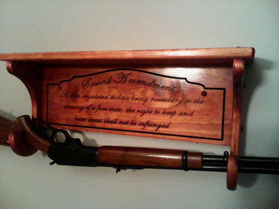 Rustic gun rack for pinterest