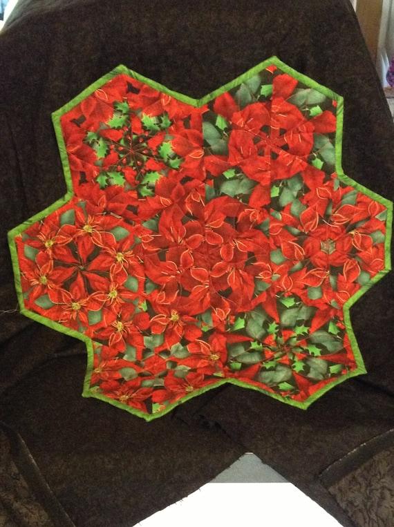 Christmas kaleidoscope table topper