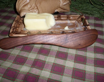 Wood spreader small knife, butter, cream cheese, hand made wooden butter knife