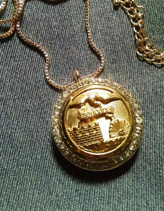 Corps engineers essayons button