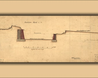 24x36 Poster; Governors Island Fortifications New York 1766