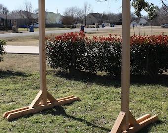 Brand New Large Freestanding Cedar Pergola Garden Entry Arbor - 5 Foot walkway - Free Shipping