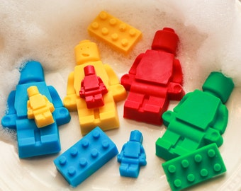 Toy Brick Soap, Kids Soap, Children Soap, Bath Time, Toy Soap, Party Favors