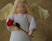 Angel Waldorf doll // Natural table doll // Nativity angel // guardian Angel