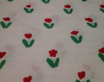 Hoffman California Fabric Fun Zone Tulip Pattern