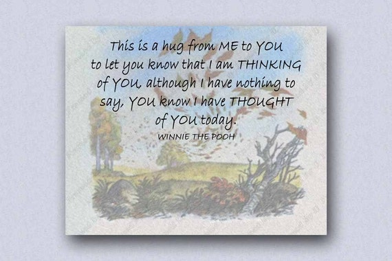 This Is A Hug From Me To You Winnie The Pooh Nursery Quote