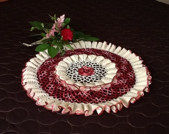 Fancy Crochet Doily
