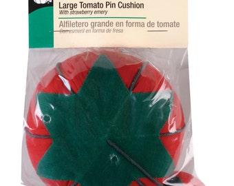 "Dritz Large Tomato Pin Cushion 4"" #731"