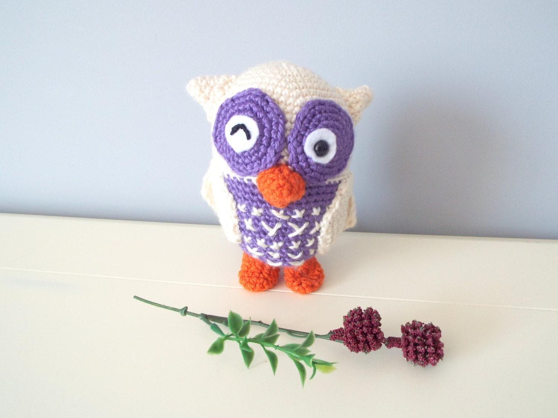 Amigurumi Crochet Toys : Crochet Owl doll toy Amigurumi Crochet by CrochetToysCorner
