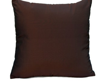 Dark Chocolate Pillow, Throw Pillow Cover, Decorative Pillow Cover, Cushion Cover, Pillowcase, Accent Pillow, Toss Pillow, Polyester Pillow