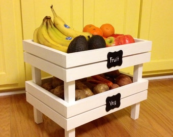 Stackable Fruit And Veg Crate set