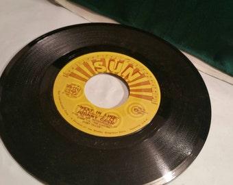 Johnny  Cash Sun Label Record 45