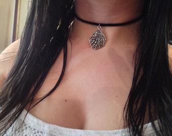90s Grunge velvet chocker necklace