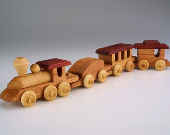 Mini Train Toy Wood Train Christmas Gift Handmade gift wood toys