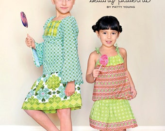 SALE NINA Sewing Pattern by Patty Young for ModKid