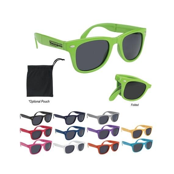 100 Personalized Folding Malibu Sunglasses By PersonalizeGuys