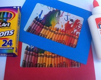 Jolie's Crayon Greeting Card
