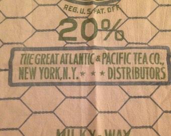 A & P cloth bag