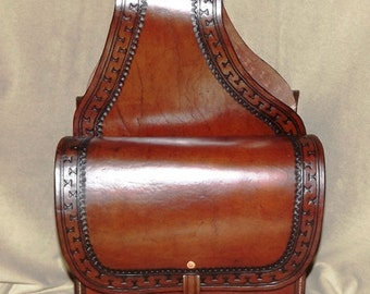 Hand Crafted Old West Saddle Bags