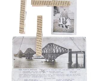 Vintage Book Magnetic Note Holders