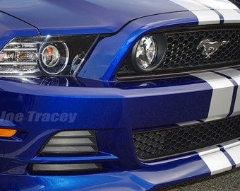 2013 Ford Mustang GT, Muscle Cars, Ford, Automotive Art, Wall art, Mustang, Performance Cars