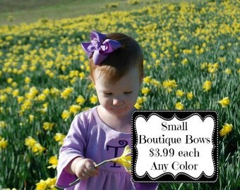 Small Boutique Hairbow