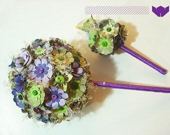 Hippie Bouquet.Lavender Bohemia