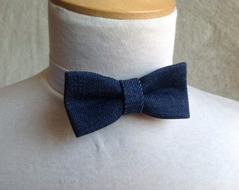 jeans bow tie for children