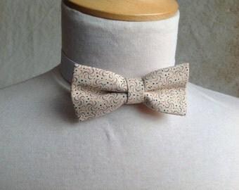 cream bow tie for children