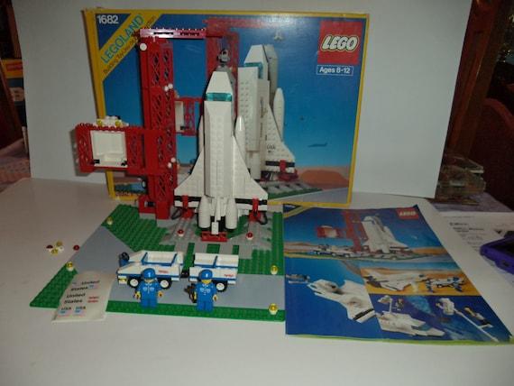 lego vintage 1990 lego legoland navette spatiale ville. Black Bedroom Furniture Sets. Home Design Ideas
