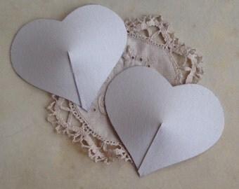 XL Heart Nipple Tassel Bases