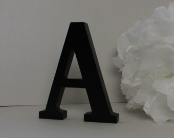Letter to ask black lacquered wood