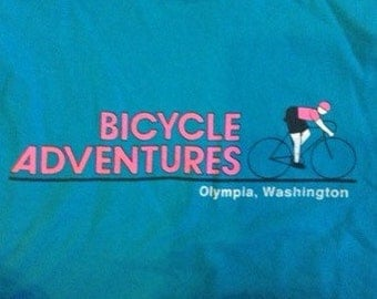 Olympia, Washington bike tee