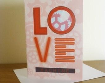 Love Machine   Valentines Day Card