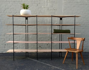SALE PRICE - Iron Modernist Shelving