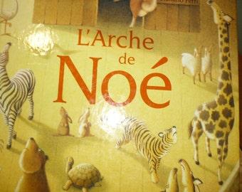 French children book L arche de Noe