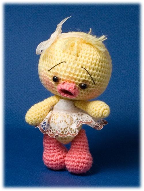 Amigurumi Chick Crochet : Easter DIY crochet pattern Chick toy Amigurumi by ...