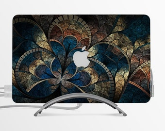 Cathedral MacBook Decal Custom Creative Sticker Apple MacBook Decal Gift with Apple logo
