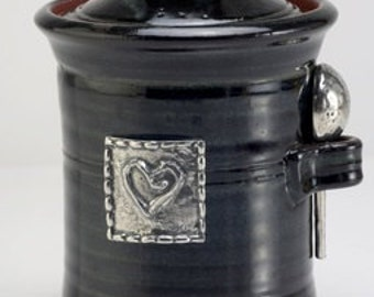 Salt Pot - Heart