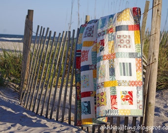 Salt Air Charm Quilt Pattern PDF